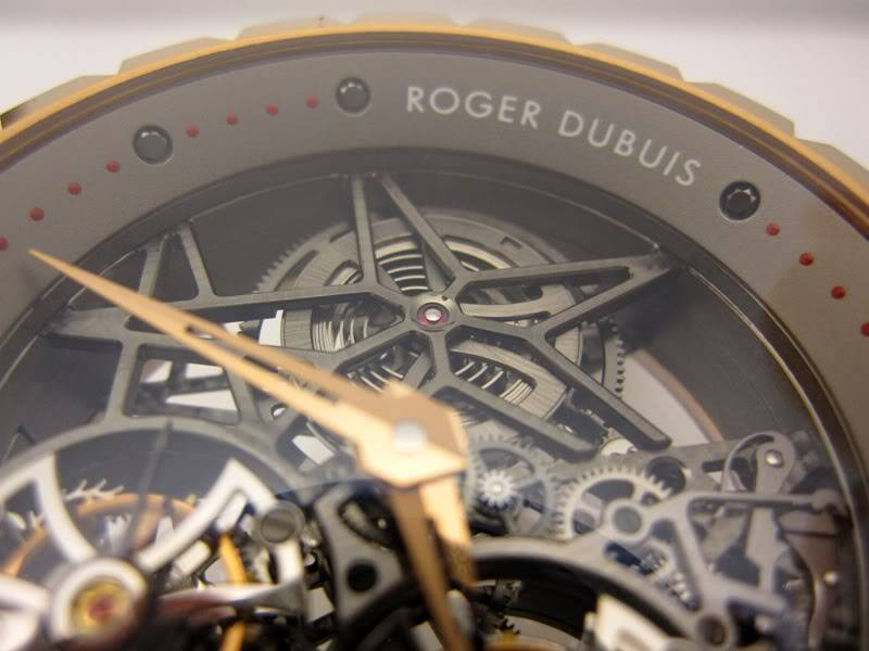 Roger Dubuis Excalibur Double Tourbillon Volant Squelette RD2T03