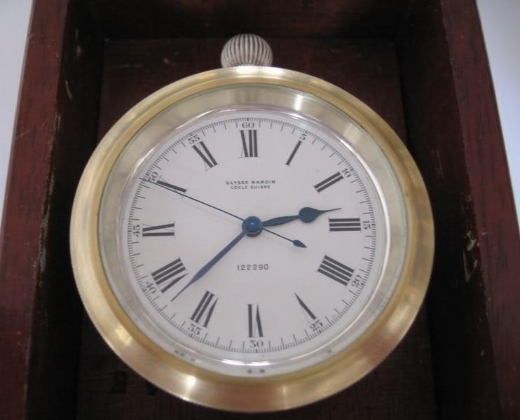 Chronomètre de marine Ulysse Nardin UlysseNardin02