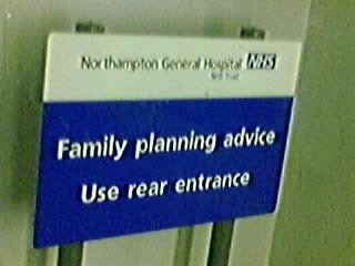 Sign sign everywhere a sign ( Warning could be graphic ) FamilyPlanning