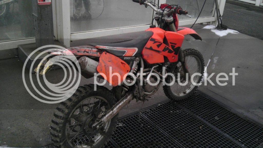 Stolen: My KTM EXC 250 with CCTV footage £1000 Reward IMAG0109