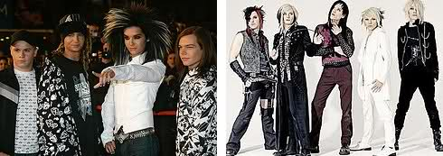 Tokio Hotel and Cinema Bizarre
