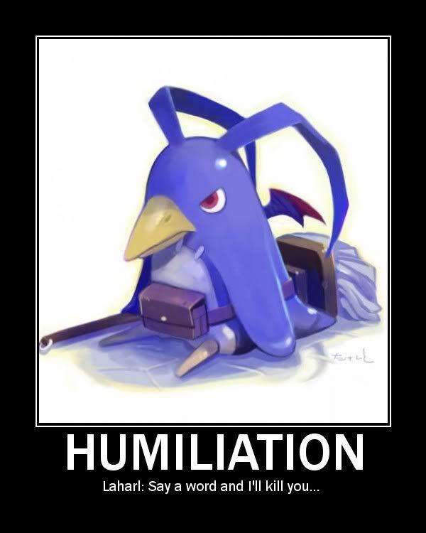 You Laff, You Lose Laharlhumiliation