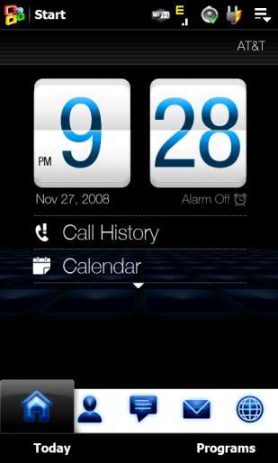 Thèmes pour TF3D HTC Touch HD Screenshot_251