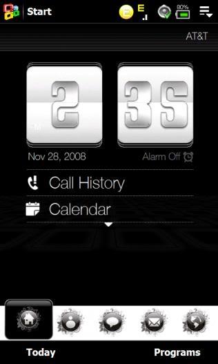 Thèmes pour TF3D HTC Touch HD Screenshot_30