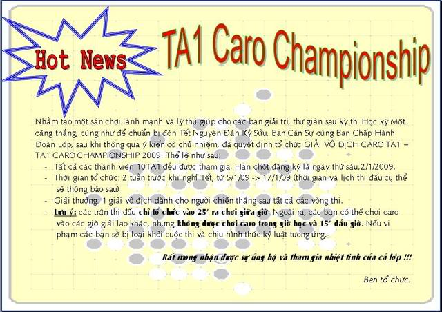 Event: TA1 Caro Championship Untitled3