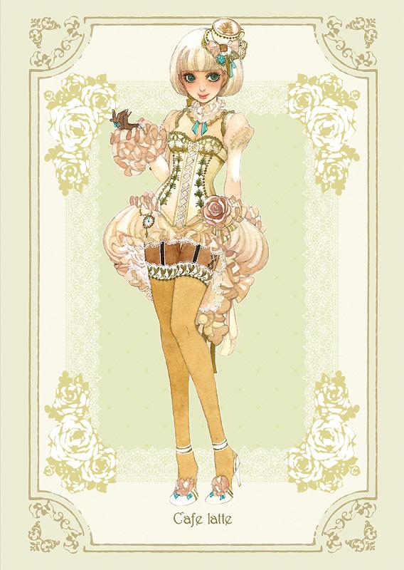 Sakizo Artwork group CoffeePersonificationfull85033