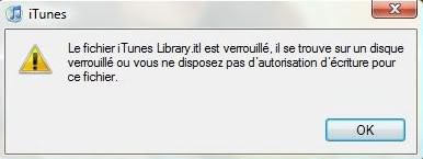 """Probleme itune """" Aide svp ?"""" Ght"""
