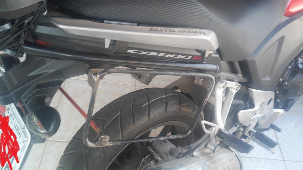 Kit Alforge Lateral + Afastador Honda Cb500 X(Barato) - Página 2 20150618_130938