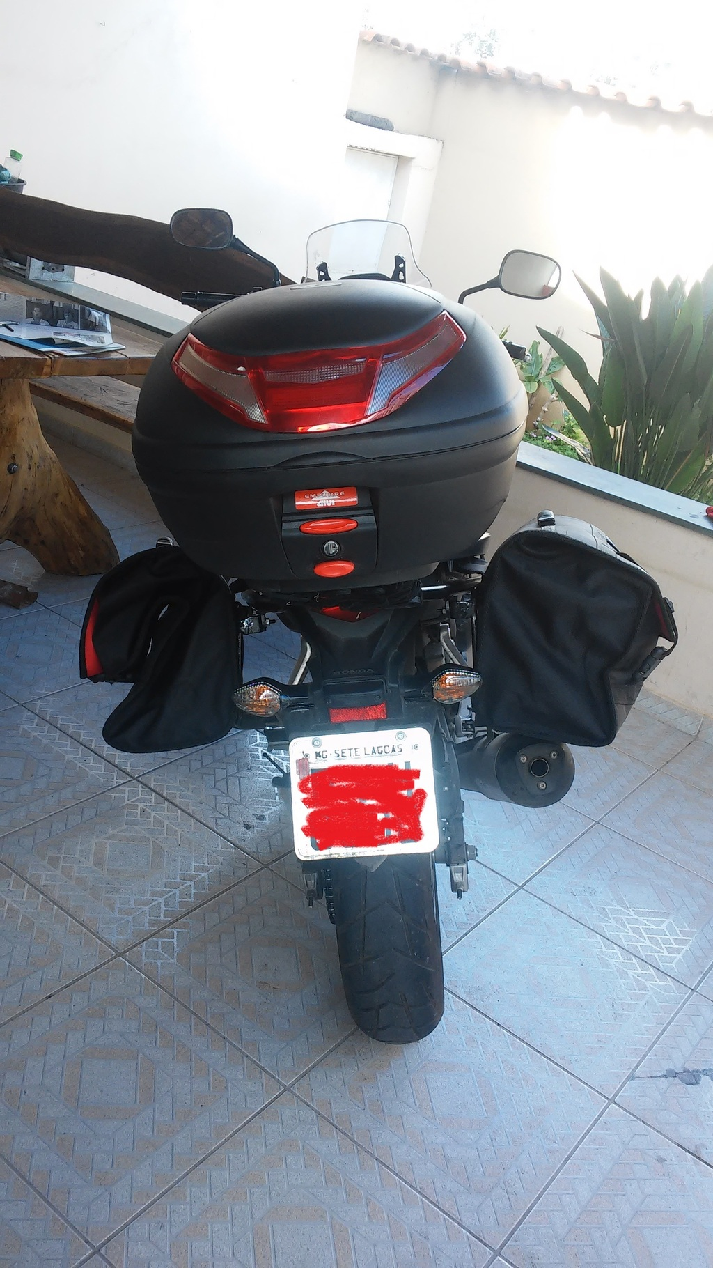 Kit Alforge Lateral + Afastador Honda Cb500 X(Barato) - Página 2 20150619_134932