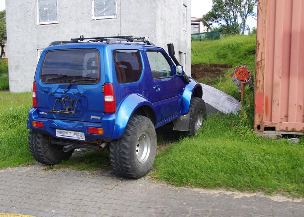 Un petit tour d'Islande... Jimny-corsica