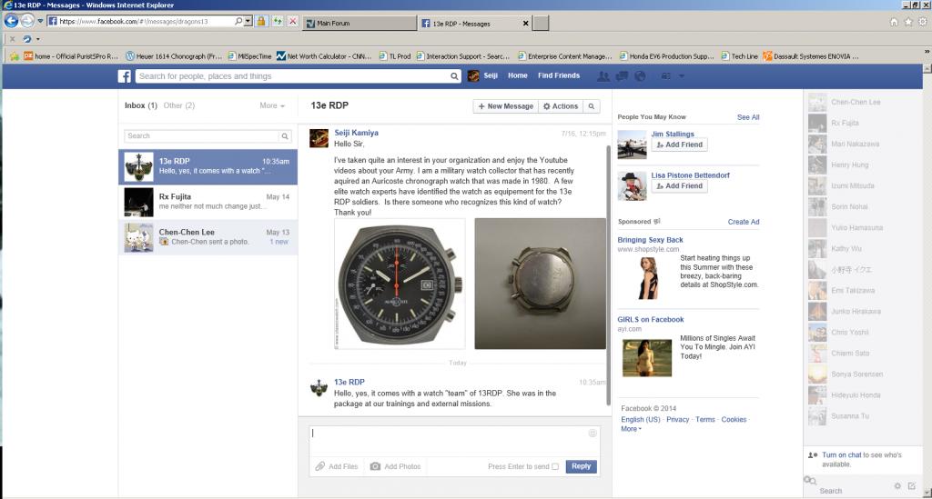 13e RDP Auricoste version 1980 Chronograph Watch History? 13eRDPConfirmedv3