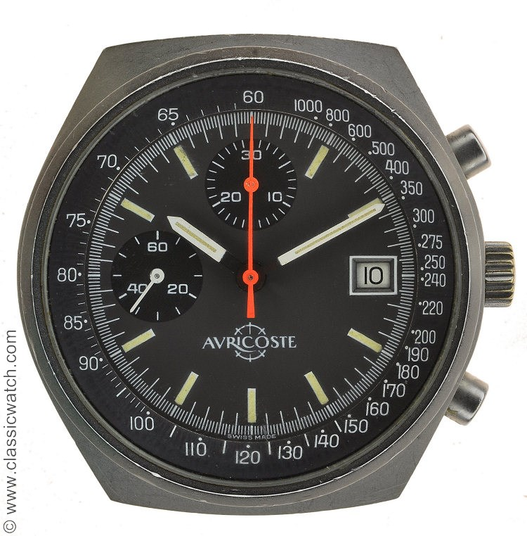 13e RDP Auricoste version 1980 Chronograph Watch History? Rxr0291