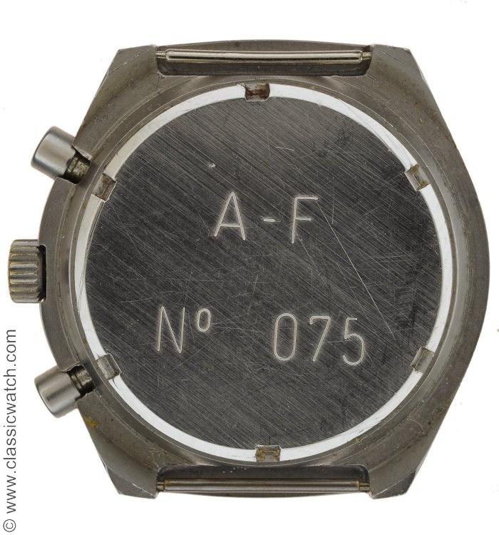 13e RDP Auricoste version 1980 Chronograph Watch History? Rxr0291b