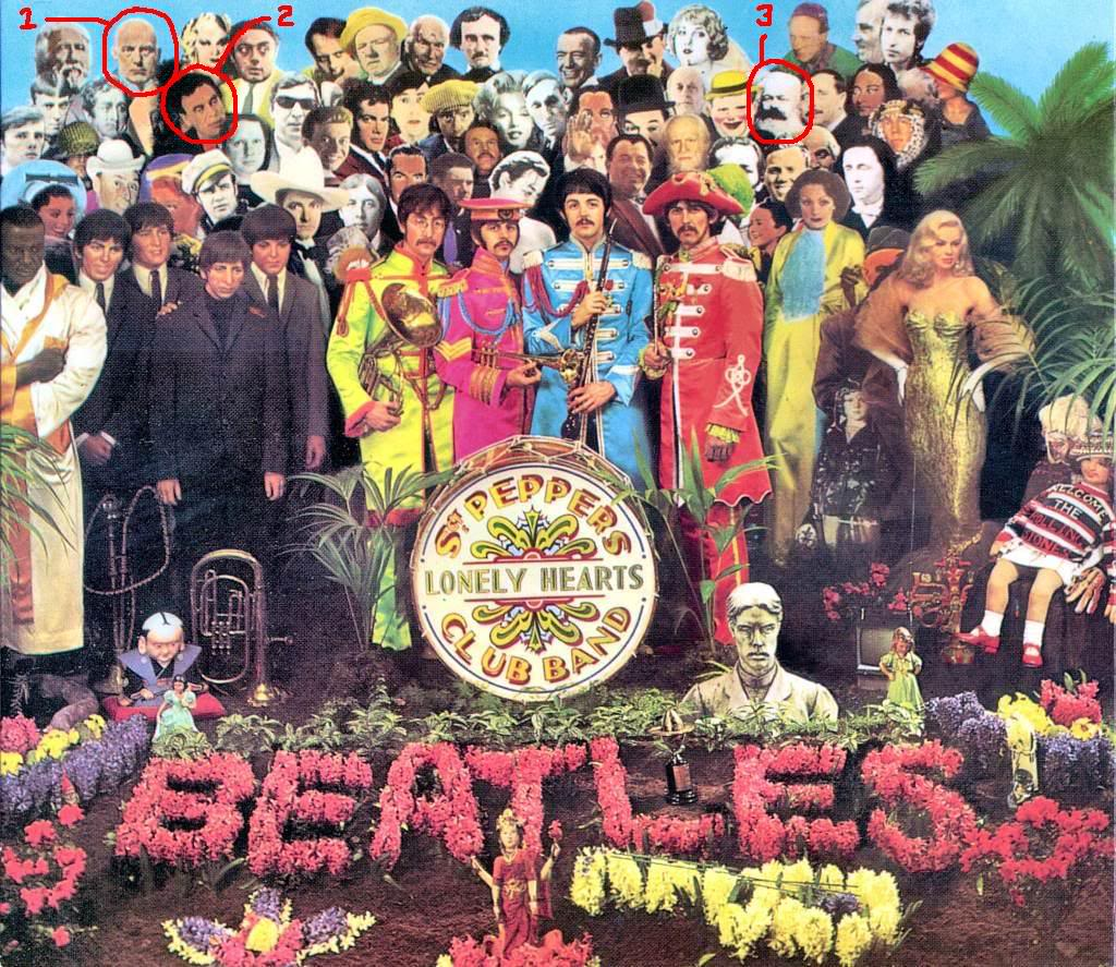 The Manufactured Invention of the Beatles, Stones, Grateful Dead and the Birth of Rock n' Roll by the Tavistock Institute Sgt_pepper_faces