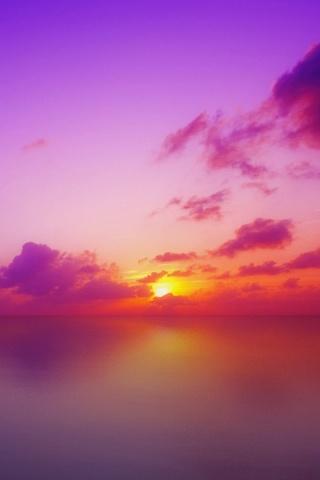 Sóng gió giữa đời (thơ ĐL dp) Sun-Set-Maldives-320x480