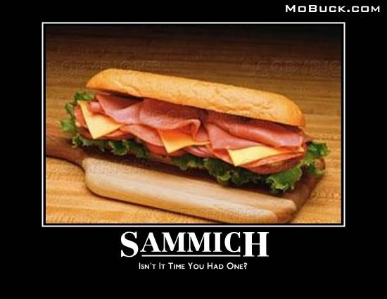 General Chat - Page 3 Sammich