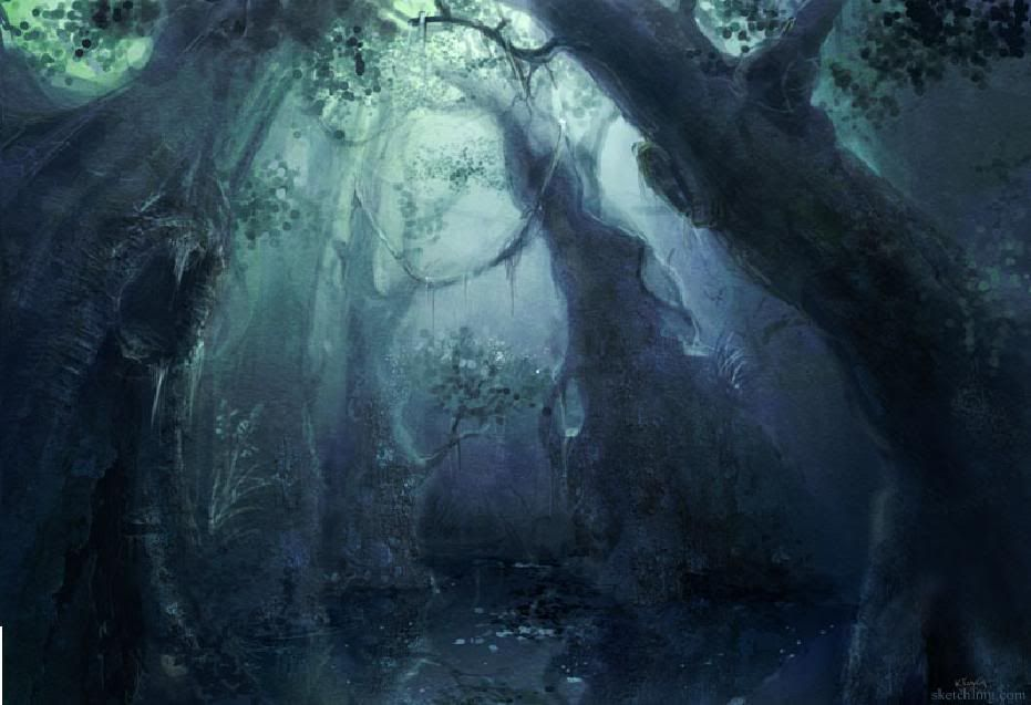 Mushishi: The Unwanted Darkforest