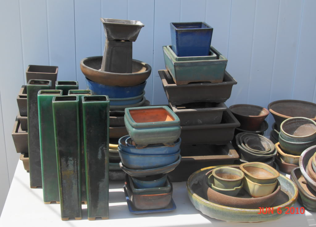 Mother lode of pots DSC02015