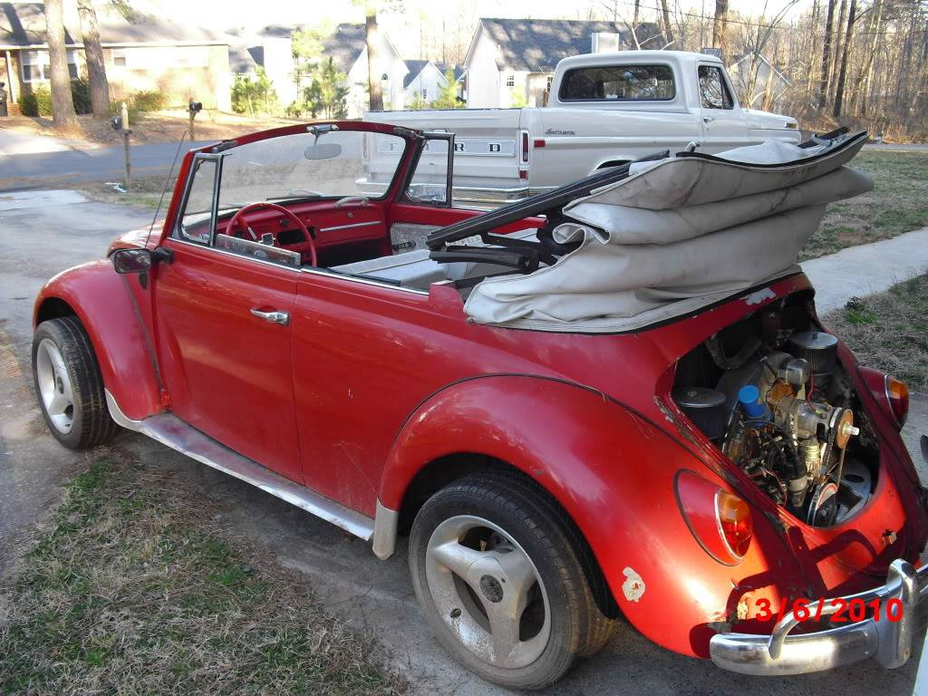 1965 VW convertible CIMG0260