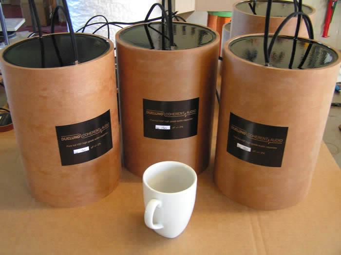 Resistencias de carbón audiophilas. DuelundCAST300uf