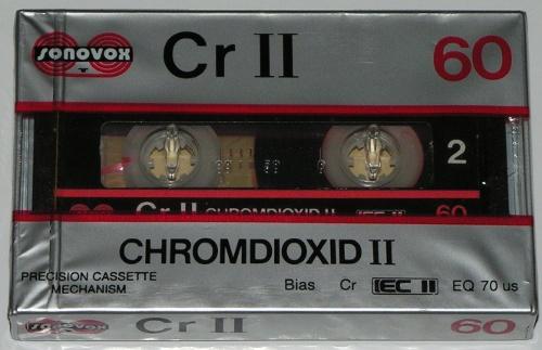 Cassetes Sonovox Sonovox_CrII_ChromdioxidII_60_1