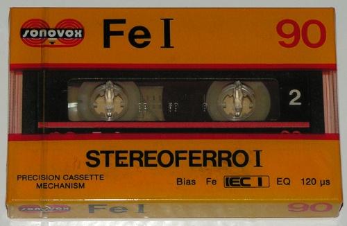 Cassetes Sonovox Sonovox_FeI_StereoferroI_90