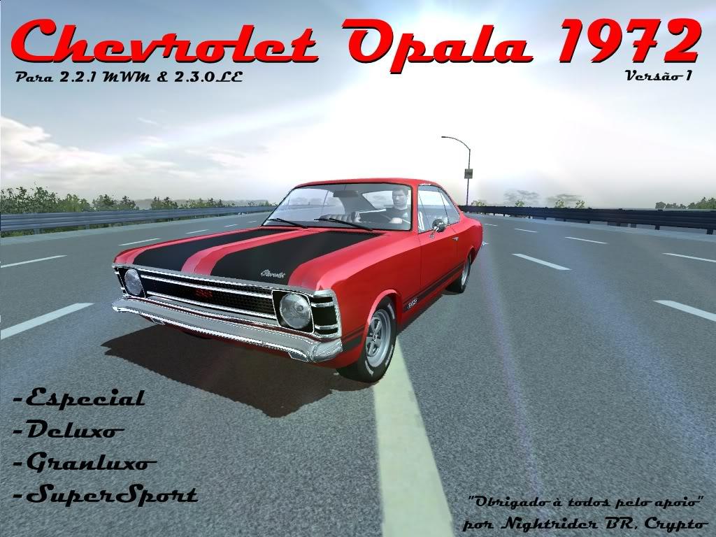 Chevrolet Opala 1972 (2.3.0LE & 2.2.1MWM) OpalaRelease