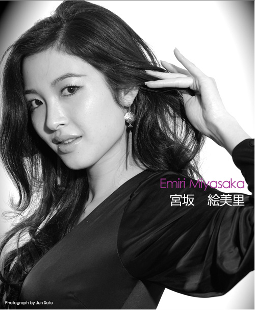 The Road to Miss UNIVERSE Japan 2009- portraits in black and white - Page 2 22-3-20092-33-28