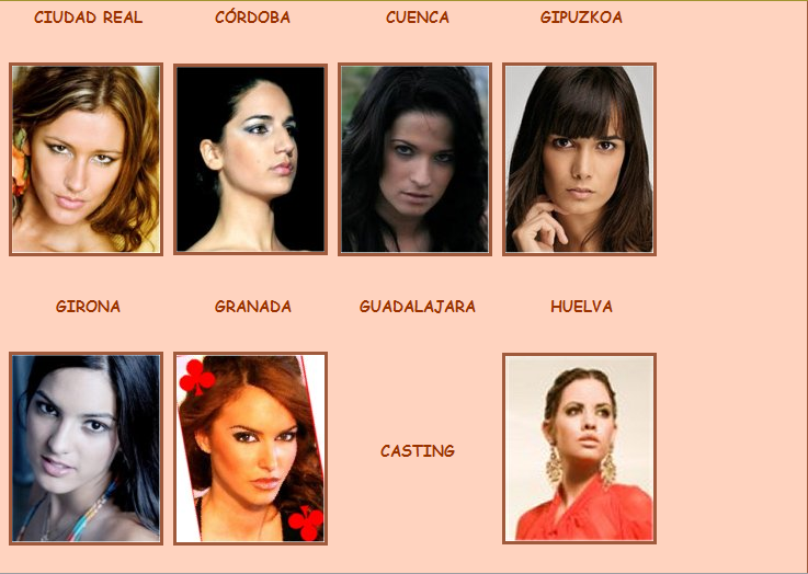 Road to Miss Espana 2009 - results 8-1-20098-10-41