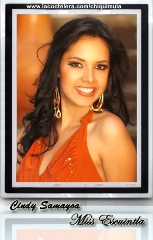 MISS GUATEMALA UNIVERSO 2009: Meet the Contestants (RESULTS ADDED)! Escuintla01