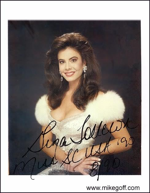 tolleson - Gina Tolleson - MISS WORLD 1990 (USA) Gina01a
