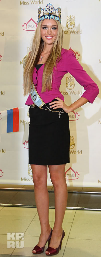 MISS WORLD 2008 -WELCOME BACK TO RUSSIA RUSSO