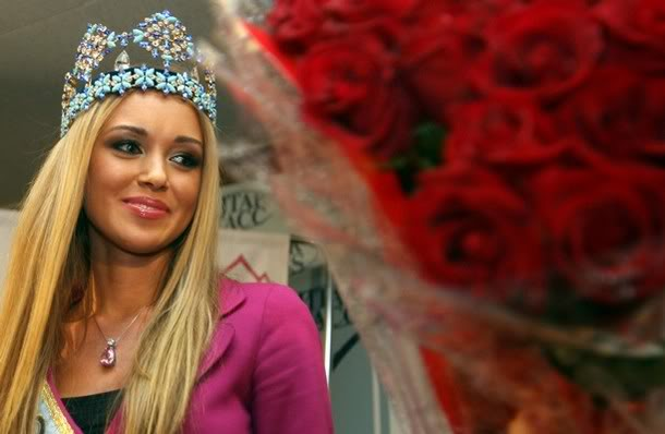 MISS WORLD 2008 -WELCOME BACK TO RUSSIA RUSSSSSSSS