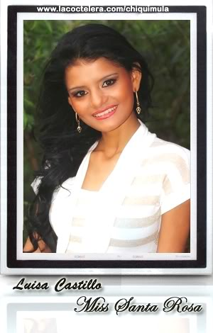 MISS GUATEMALA UNIVERSO 2009: Meet the Contestants (RESULTS ADDED)! SantaRosa01