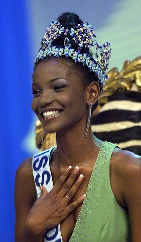 Agbani Darego - MISS WORLD 2001 UT0099682