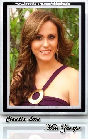MISS GUATEMALA UNIVERSO 2009: Meet the Contestants (RESULTS ADDED)! Zacapa01