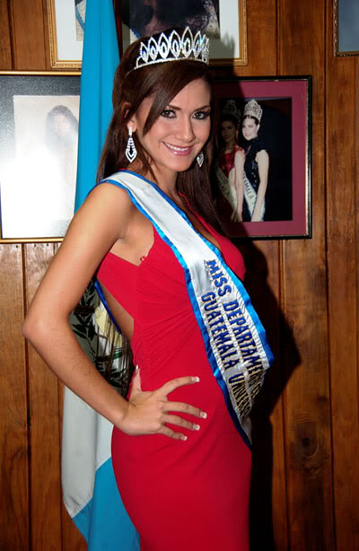 MISS GUATEMALA UNIVERSO 2009: Meet the Contestants (RESULTS ADDED)! Melanie