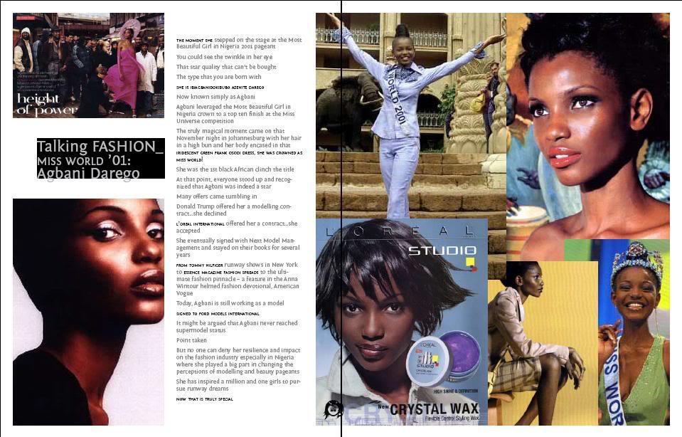 Agbani Darego - MISS WORLD 2001 Untitled