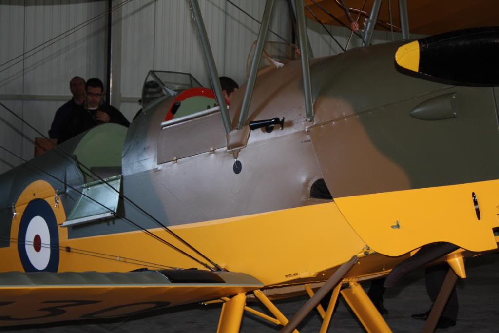 Tiger moth restored! 141