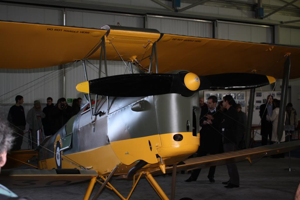 Tiger moth restored! 142