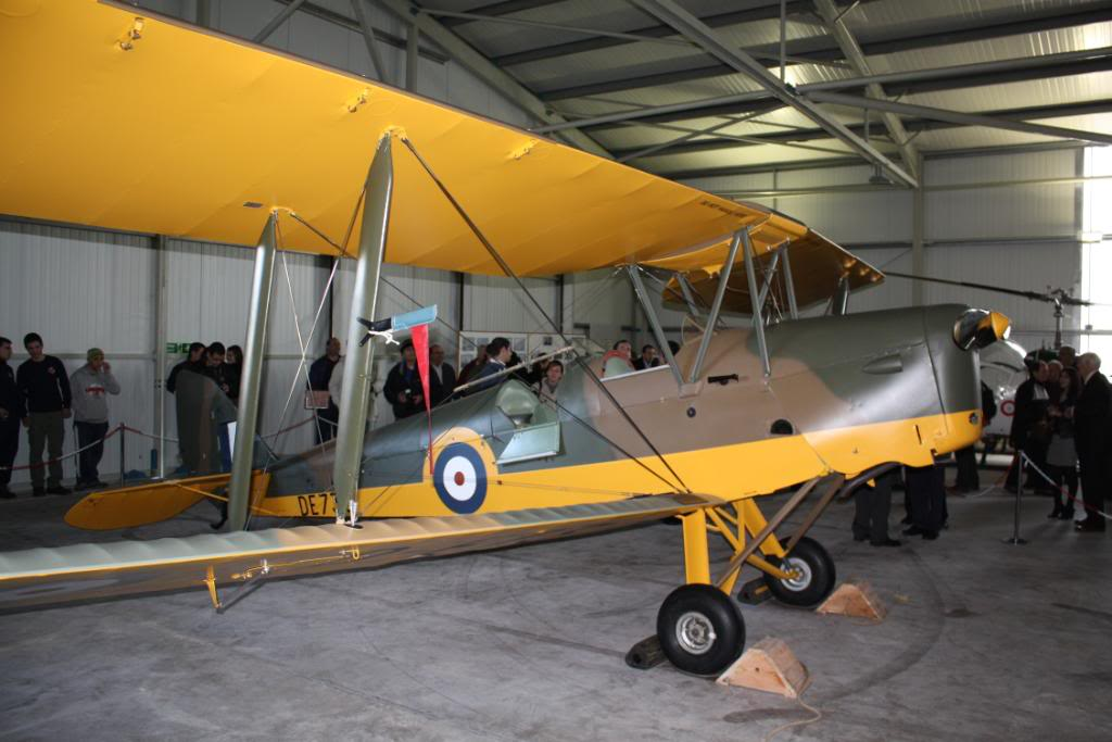 Tiger moth restored! 143