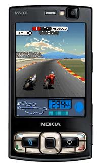 لعبة سباق الدراجات Moto GP 08 + لعبة سيارات رائعة New Ferrari Aaaa