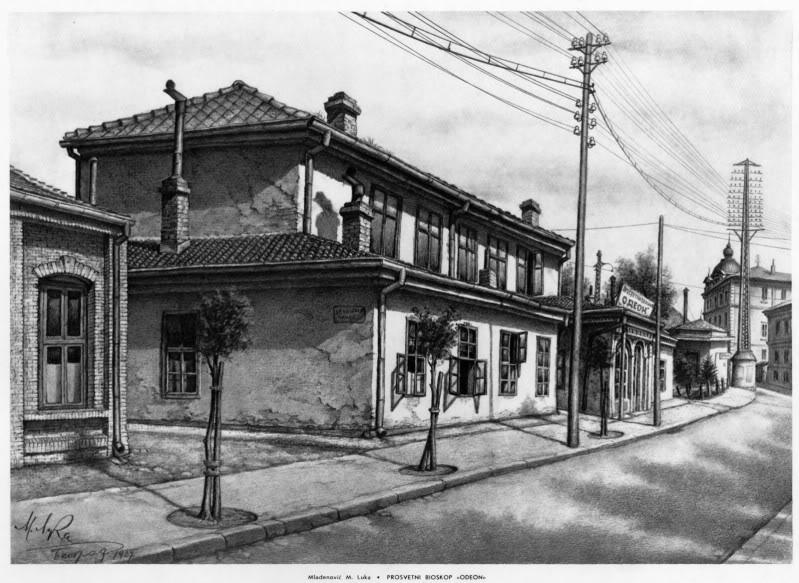 Stari Beograd u očima umetnika ProsvetnibioskopOdeon1600x1200