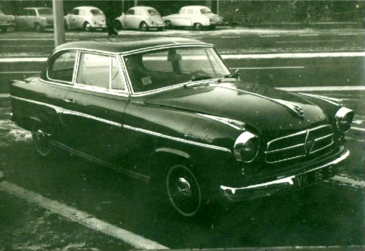 Cars owned whilst in BAOR Borgward-1