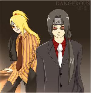 Imágenes de Naruto Itachi__Deidara___Dangerous_by_arri