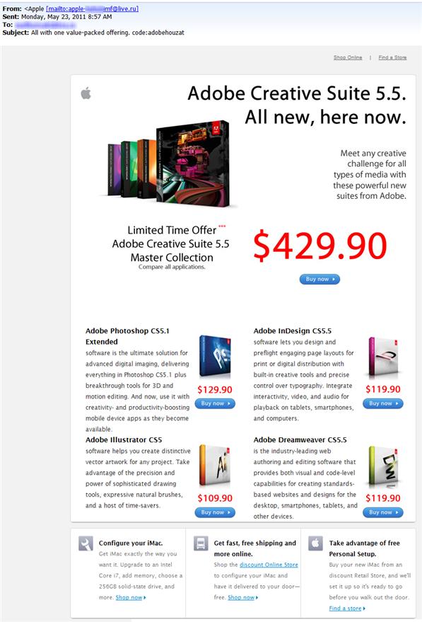 Un engaño a la Apple Store: 3 sugerencias de seguridad Engano_apple_store