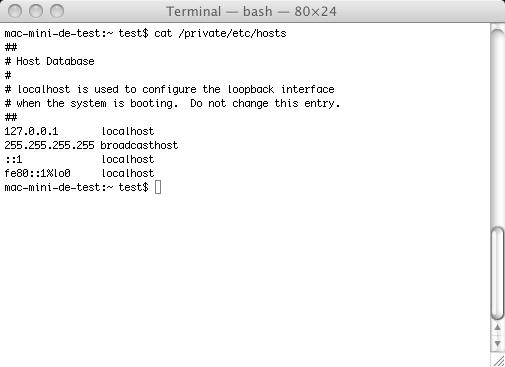 Falso reproductor de Flash es malware para Mac  Hosts