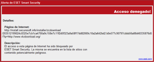 ¡Atención! Usuarios de VLC podrían estar infectados IMG_VLC_DETECTED