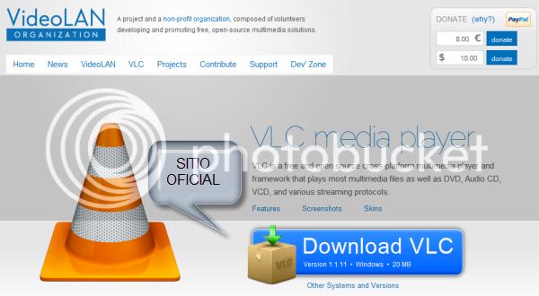 ¡Atención! Usuarios de VLC podrían estar infectados IMG_VLC_ORIGINAL