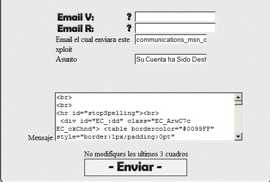 Robando cuenta de Hotmail, a su ex…  Postales-Gusanito